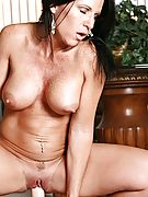 Explicit milf kendra secrets rides the sybian until she erupts into a massive orgasm