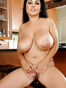 Busty and exotic MILF Jaylene spreads her rear for a hot close-increase