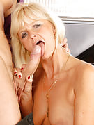 MILF Jenny F initial gobbles right after which fucks this girl juvenile studs hard tool