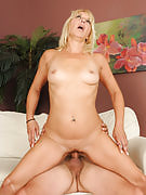 Horny 45 yr old blonde Andi completely loving the hard tool in right here