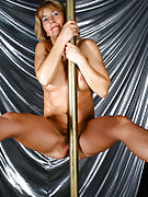 Kate M. takes on the hairy stripper and additionally puts on the great hairy show