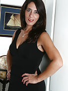 47 year refined and old spouse Stacy slips away this girl clothing for naked play